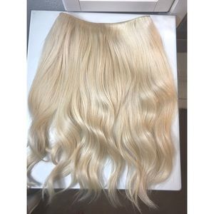 18 inch Halo Couture layered extensions